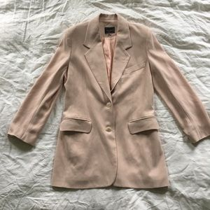 vintage light pink blazer
